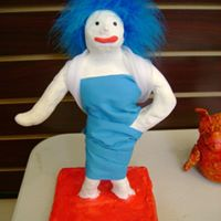 Cloud Clay Figure