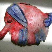 Clay Slab Animal