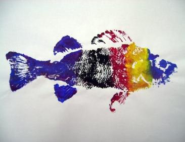 Gyotaku (Japanese Fish Printing)