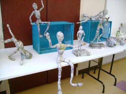 Paper Mache Figures