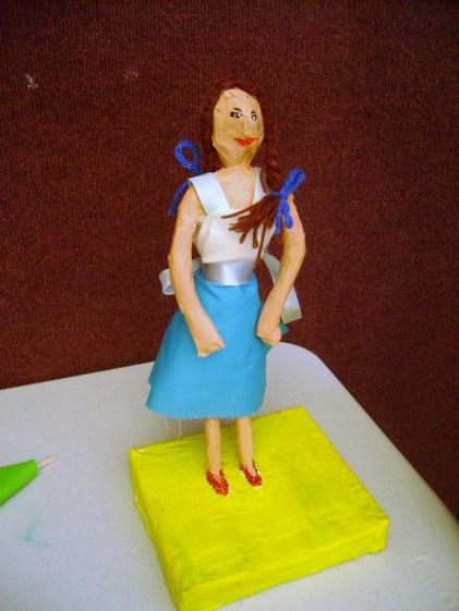 Paper Mache Figure