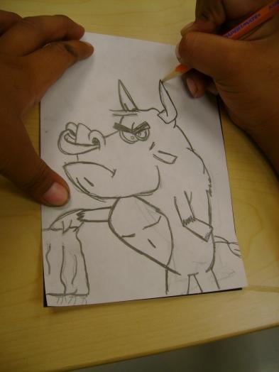 Cartoon Drawing