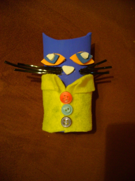 Tissue Tube Pete the Cat