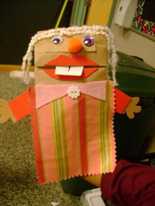 Fandango Paper Bag Puppet