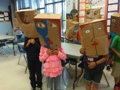 Picasso Paper Bag Mask