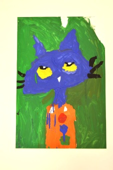 Pete the Cat Painting