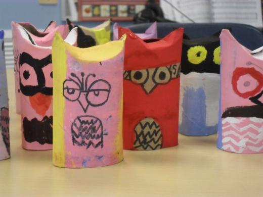 Tissue Tube Owls