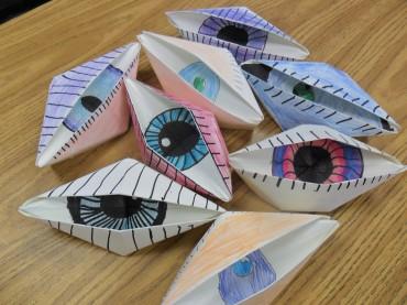 Origami Eyes