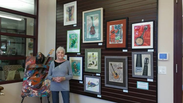Chris and Her Art, Group Show, October 2015