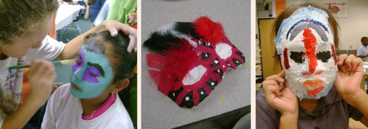 masks student work website